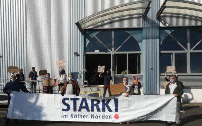 STARK! in Aktion gegen den Angriff auf die Ditib Zentralmoschee Chorweiler