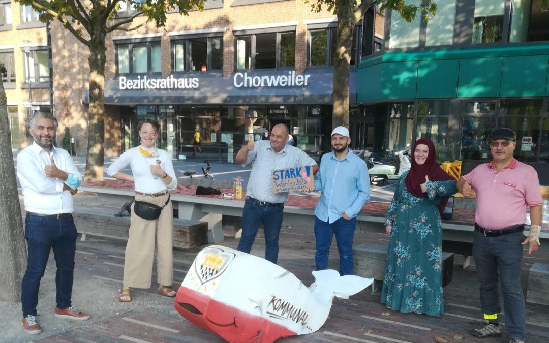 Erfolgreiche Kampagne #STARKeWahlen2020 von STARK! im Kölner Norden und Demokratiewerkstatt im Kölner Norden